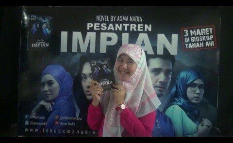 """Film terbaru Asma Nadia """"Pesantren Impian"""" diputar serentak 3 Maret, Gandeng Komunitas FASTPAY."""