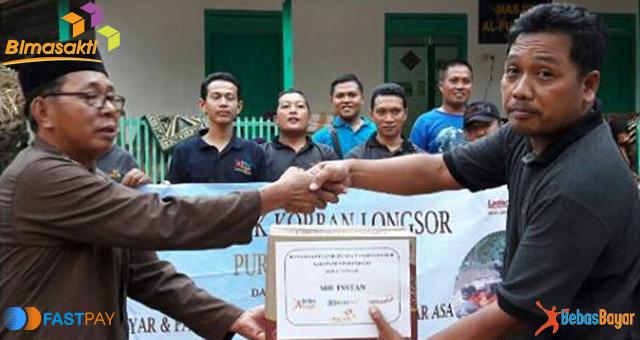 Bimasakti Bantu Korban Tanah Longsor Purworejo