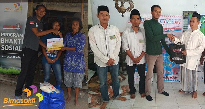 Bimasakti Adakan Khitan Massal dan Bagikan CSR untuk Dhuafa
