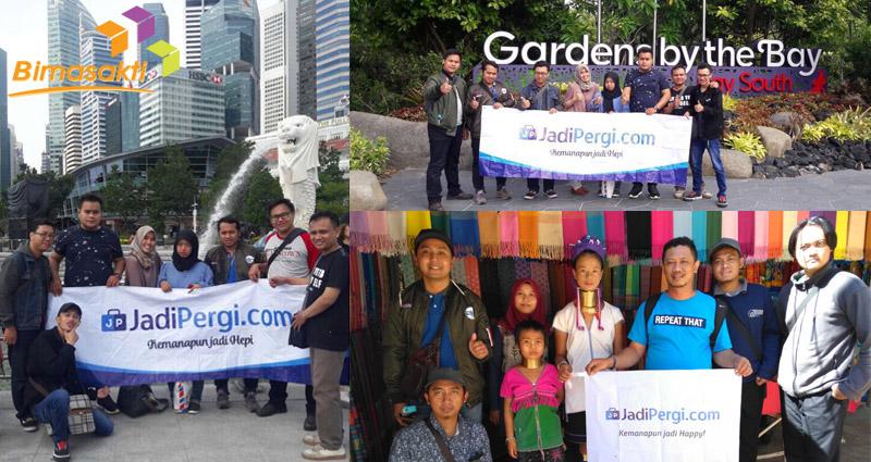 Bimasakti Kembali Berangkatkan Belasan Karyawan Ke Singapura dan Thailand