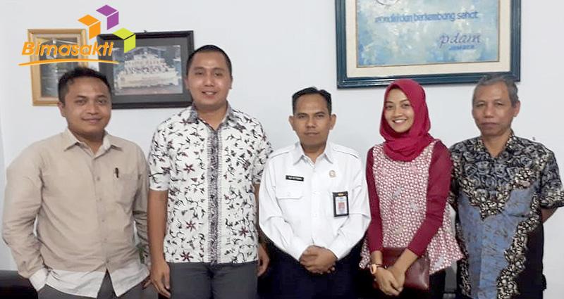PDAM Kabupaten Jember Makin Komit Dengan Bimasakti