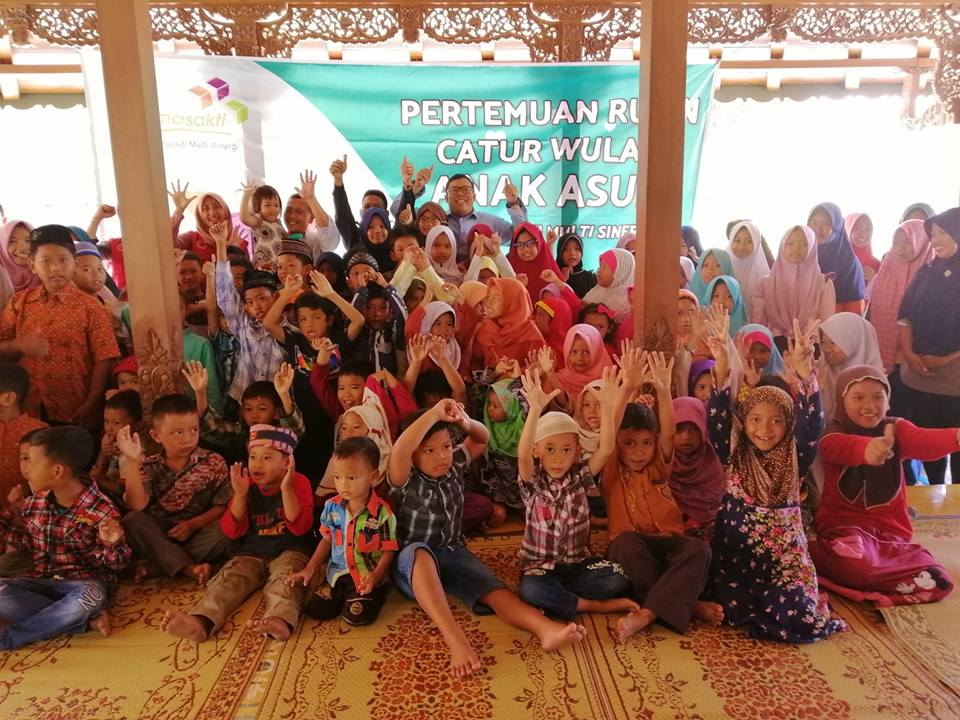 Relawan Laskar Asa Mengundang Para Anak Asuh Wilayah Pleret dan Piyungan