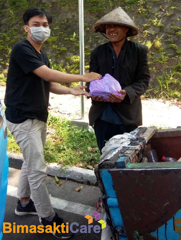 Peduli Covid-19, PT. Bimasakti Multi Sinergi Bagikan Paket Sembako di Yogyakarta