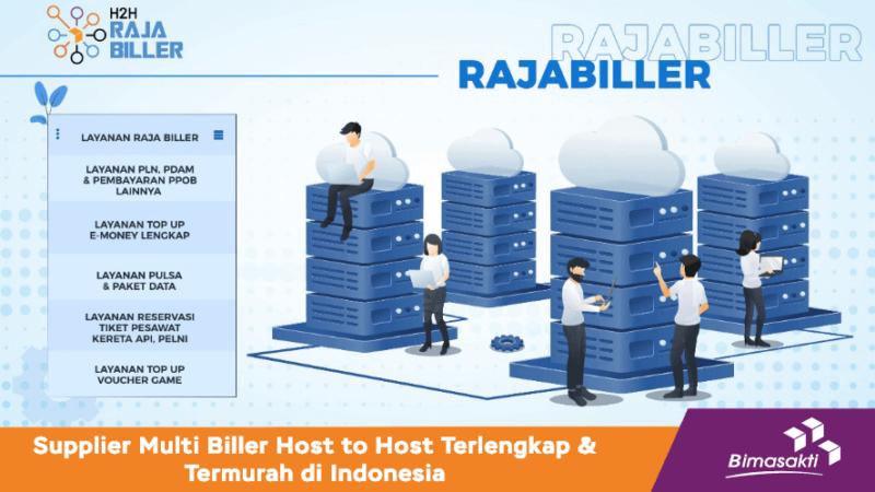 Rajabiller Supplier Multi Biller Host to Host Terlengkap di Indonesia sebagai Solusi Penyedia Pembayaran Digital